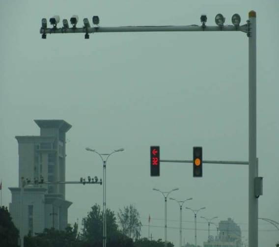 乐平市公安局交通警察支队电子警察工程